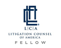Logo for Litigation Counsel of America Fellow